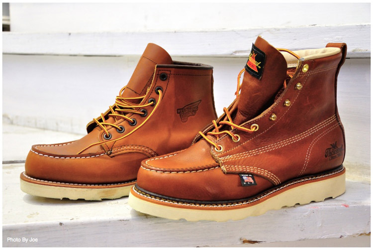 Thorogood Shoes - 814-4200 American Heritage 6 Moc Toe Boots - Thorogood Shoes - Shop By Brand