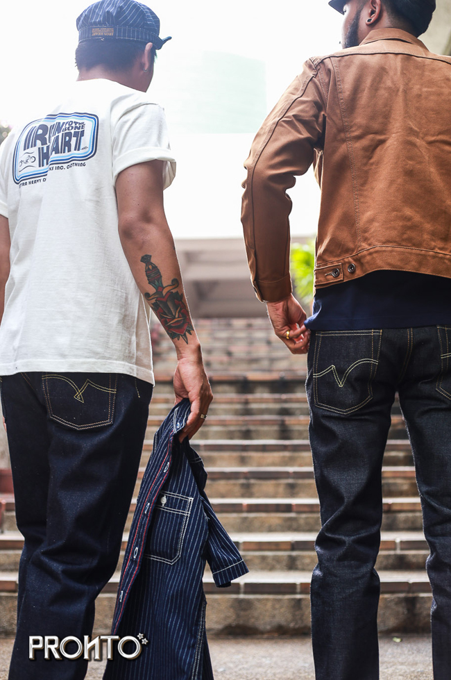iron heart thailand pronto denim IF1