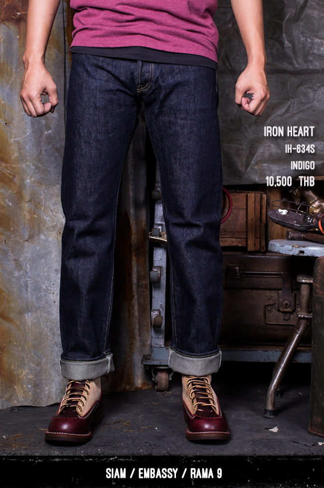 iron heart thailand pronto denim IF72