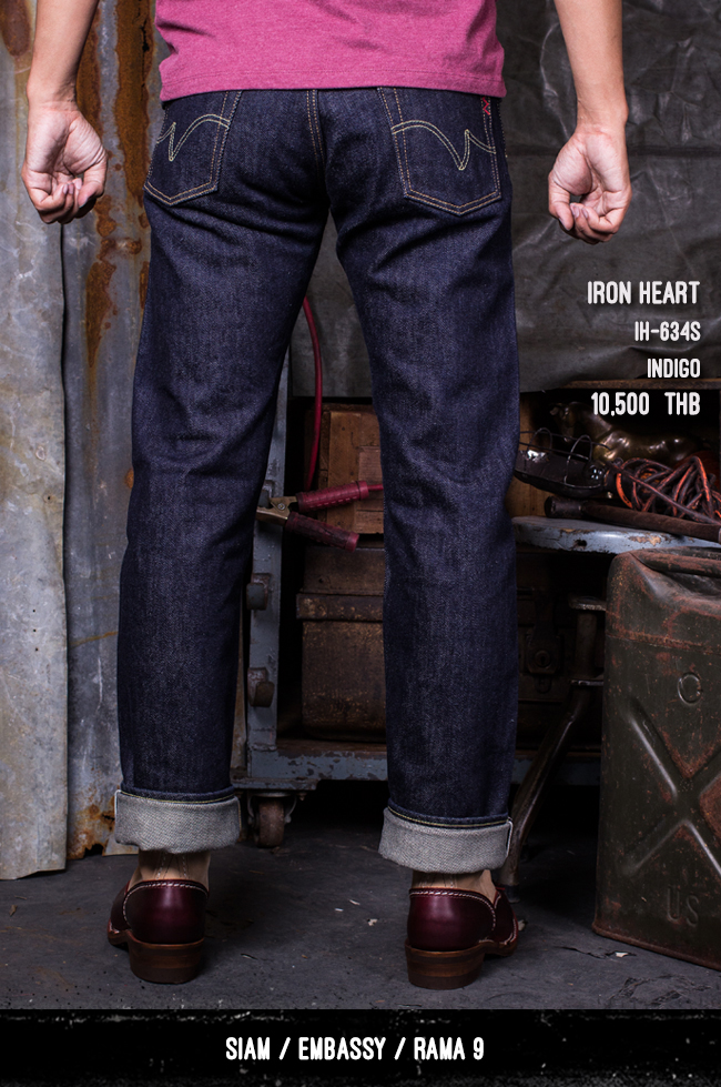 iron heart thailand pronto denim IF73